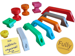 Fully Customizable General Purpose Handles