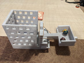 Dice Catapult:  A Dice Tower