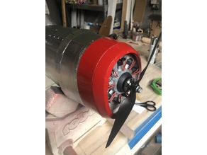Mock Radial Engine for FliteTest P47