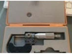 0-25mm Micrometer Tray
