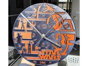 Star Wars Clock - Remix