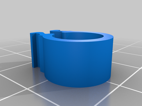 My Customized Cable clip for 2020 extrusion frame 9mm
