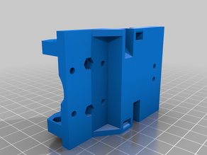 Alternate rail V6 hotend mount with fang mount