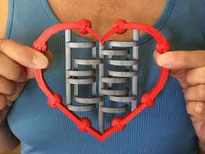 Articulated Steampunk Heart