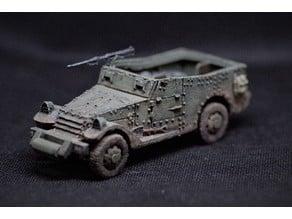 M3 Scout Car 1:56 scale ( 28mm )