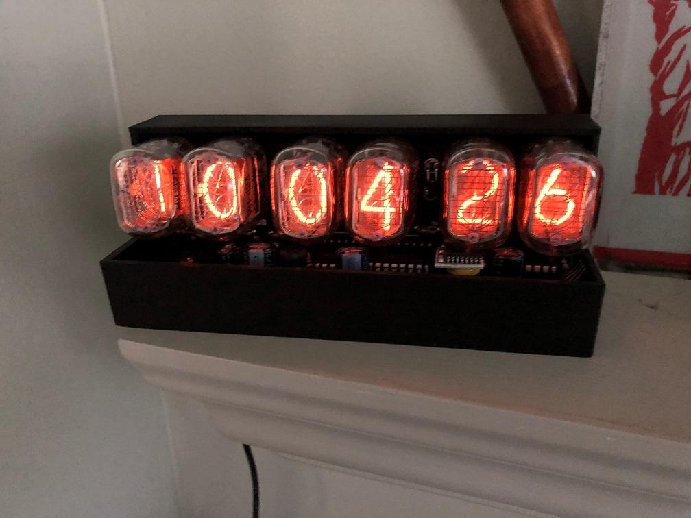 Tempus Fugit Nixus Nixie Clock Case