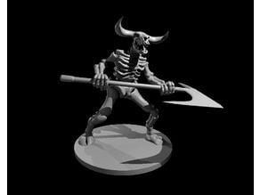 Minotaur Skeleton Updated