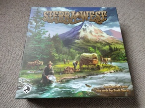 Sierra West - Boardgame Insert (removable insert for the existing insert)