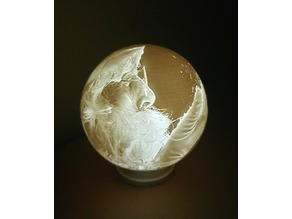 Santa and Snow Globe