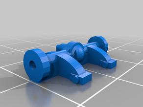 Gaslands 4x4 Lift Kit for rolling wheels
