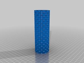 Foam Rolling Pin (Bricks: Normal) - Hartschaum Strukturrolle (Ziegel: Normal)