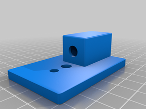Laser to Tripod Mounting Plate