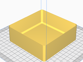 Fast-printing Trays for Ender 3