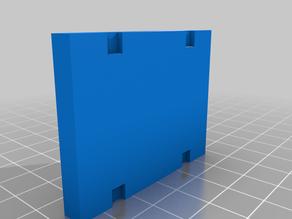DIN-rail mount for mini breadboard