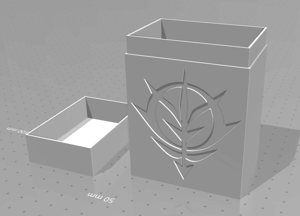 Principality of Zeon MTG Deck Box