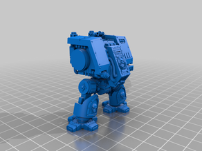 Walking Metal Box with posable Arms