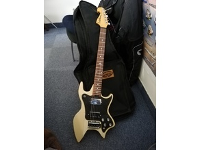 strandberg inspired electric guitar