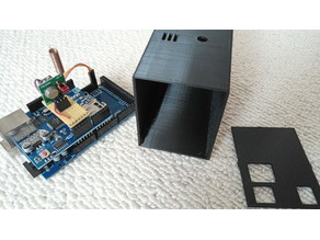 Case Arduino Mega with Ethernet Shield