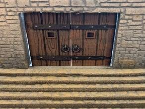 28mm Hinged Doors