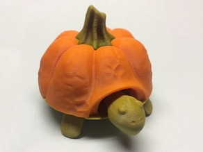 Pumkin top for Squishy Turtle