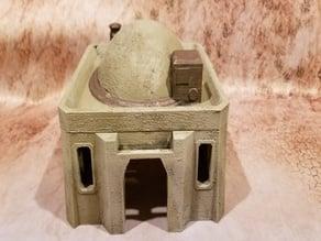 Desert Medium House, 2 styles of roof