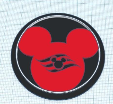 Disney Cruise Modular Logo Insert