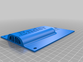 Ender3 dual fan Electronics Cover