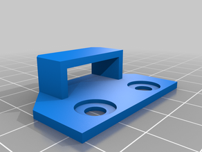 2040 Extrusion Endstop Mount for Openbuilds Acro System