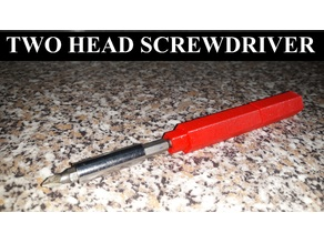 TWO HEAD SCREWDRIVER