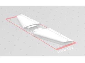 Boeing 737-200 horizontal stabilizer 1:144