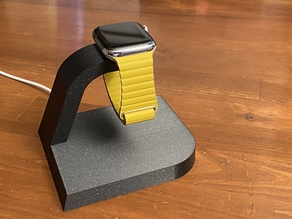 Streamline Apple Watch Charging Stand (Customizable)
