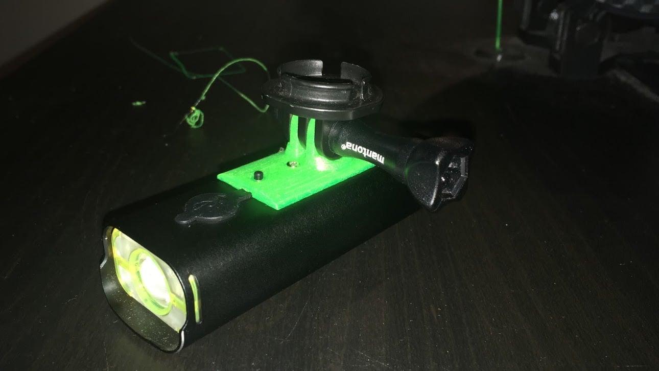 Rockbros V9C-800 adapter for bell super helmet (gopro mount)