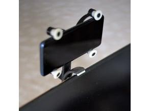 Phone Flex holder for Monitor