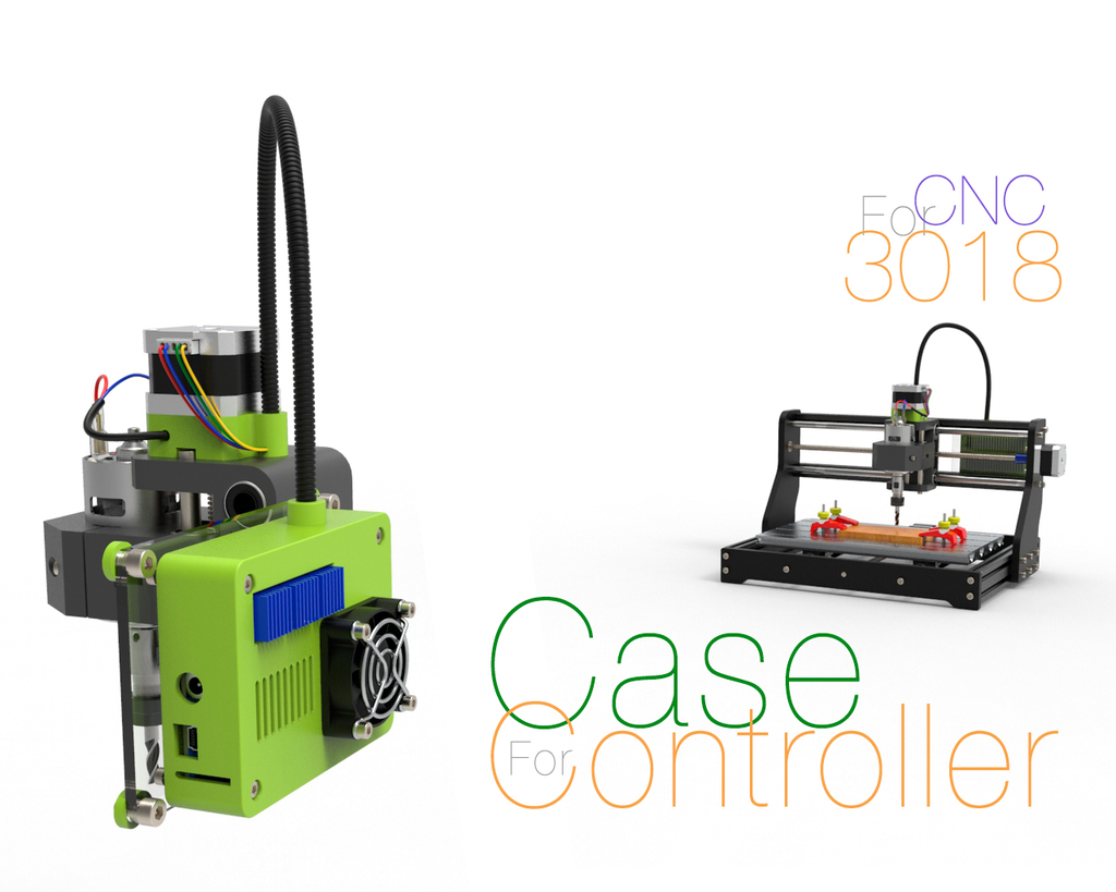 Controller Case for CNC 3018