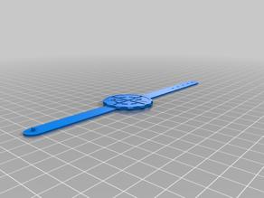 Geocaching bracelet