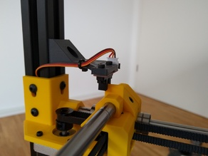 Y-Axis Optical Endstop Mount for Hypercube Evolution Custom Frame
