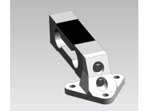 Single Load Cell Beam Support 40x30mm