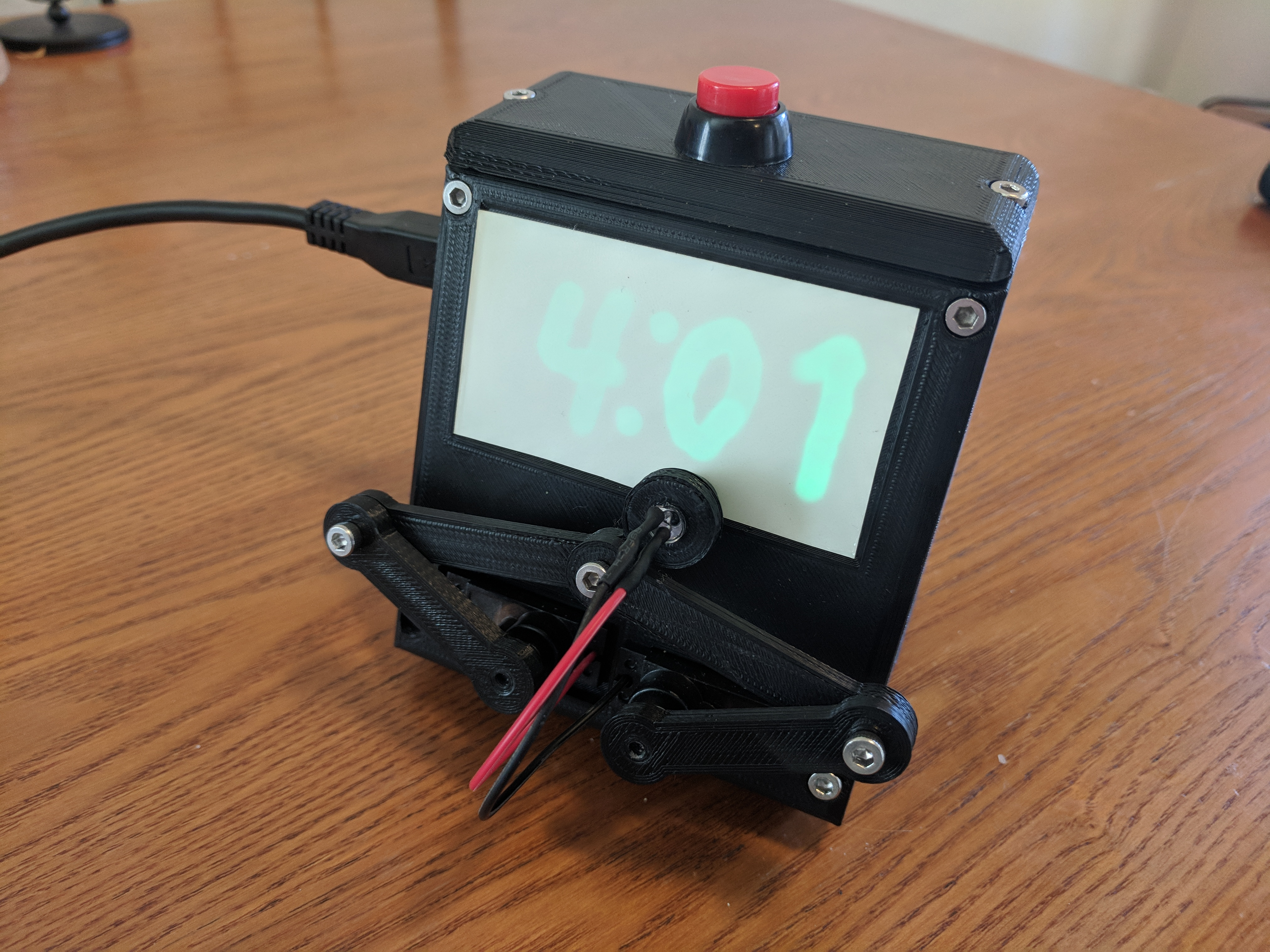 Glow-In-Dark Plot Clock by TucksProjects - Thingiverse