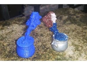 Replica of Grenadier Wizard's Room 2009H Miniature