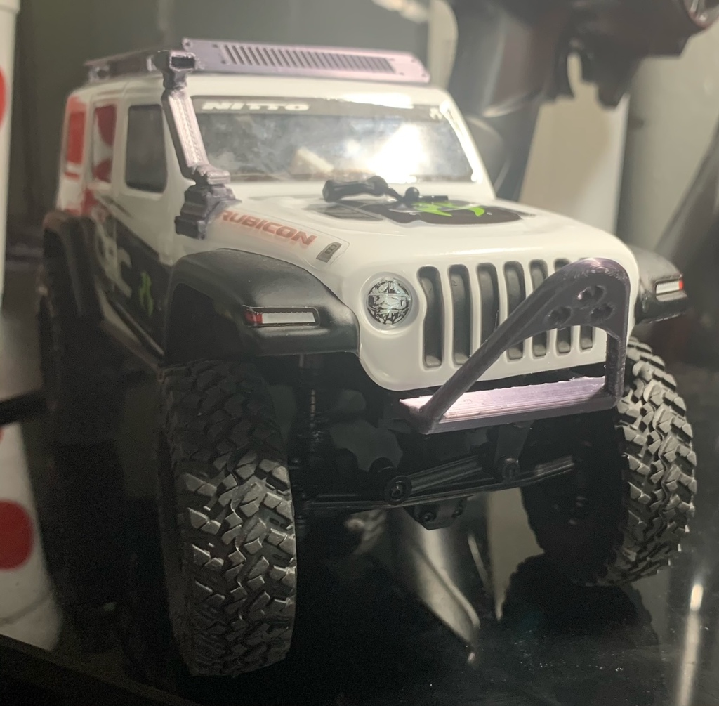 scx24 jeep scorpion bumper