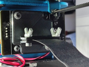 Sidewinder X1 - extruder flat cable clamp