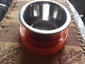 """Ant Moat for 6.5"""" SS Pet Food Bowls"""
