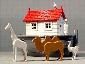 A Toy Noah's Ark
