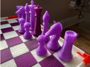 Chess Board (no glue)