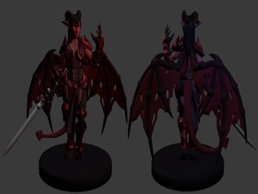 Succubus Warrior Miniature
