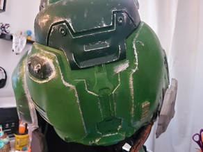 Doom Slayer Left Shoulder Pauldron