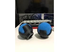 Anycubic i3 Mega-S - Vibration dampening slip on feet