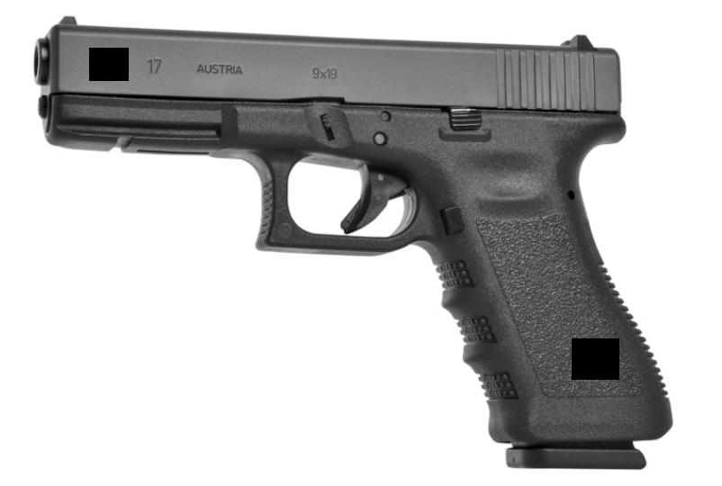Glock 17 semi functional hand gun Model / Prop Re-Re-Re-Upload