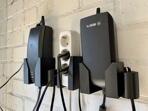 eBike chargers wall brackets