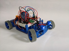 BlueCArd - Arduino RC Car with bluetooth control Android App - cheap and easy to print and build